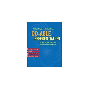 Heinemann Publishing Do-Able Differentiation: Varying Groups, Texts, and Supports to Reach Readers Workbook [eBook]