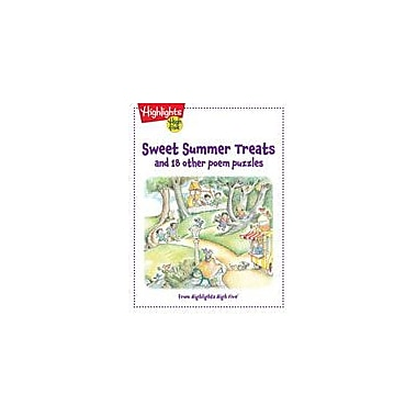Highlights for Children Sweet Summer Treats and 18 Other Poem Puzzles Reading & Writing Workbook, Kindergarten - Grade 1 [eBook]