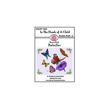 In The Hands of A Child Butterflies Lapbook Science Workbook, Preschool - Grade 4 [eBook]