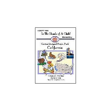 In The Hands of A Child California Lapbook Geography Workbook, Kindergarten - Grade 6 [eBook]