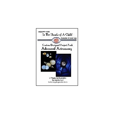 In The Hands of A Child Advanced Astronomy Lapbook Science Workbook, Grade 8 - Grade 12 [eBook]
