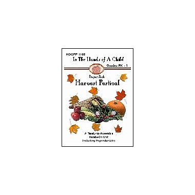 In The Hands of A Child Harvest Festival Social Studies Workbook, Preschool - Grade 1 [eBook]