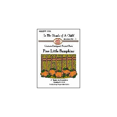In The Hands of A Child Five Little Pumpkins Math Workbook, Preschool - Grade 1 [eBook]