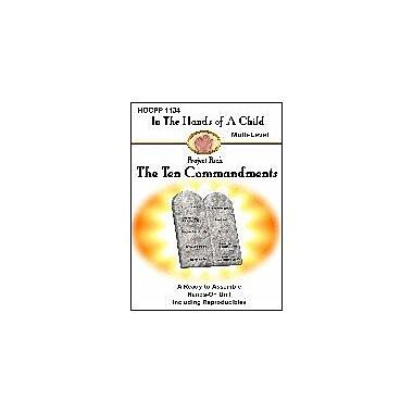 In The Hands of A Child The Ten Commandments Other Workbook, Kindergarten - Grade 8 [eBook]