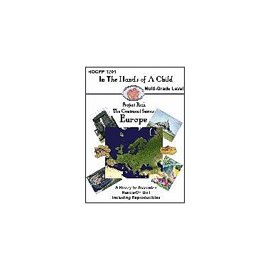 In The Hands of A Child Europe Geography Workbook, Kindergarten - Grade 12 [eBook]