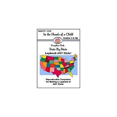 In The Hands of A Child State by State: Lapbook Any State Geography Workbook, Grade 3 - Grade 12 [eBook]
