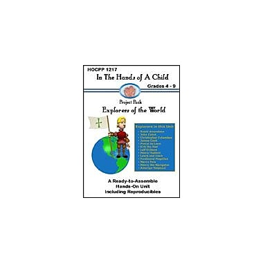 In The Hands of A Child Explorers of the World Geography Workbook, Grade 4 - Grade 9 [eBook]
