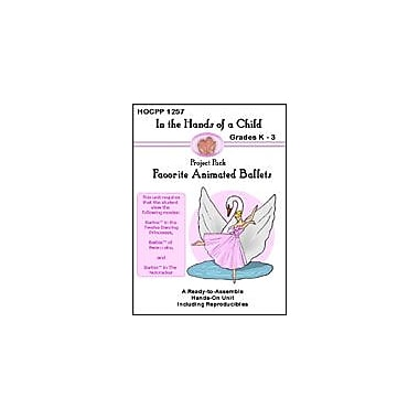 In The Hands of A Child Favorite Animated Ballets Reading & Writing Workbook, Kindergarten - Grade 3 [eBook]