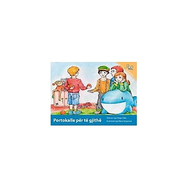 International Step by Step Oranges For Everybody (Albanian) Reading & Writing Workbook, Kindergarten - Grade 5 [eBook]