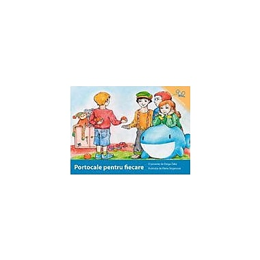 International Step by Step Oranges For Everybody (Romanian) Reading & Writing Workbook, Kindergarten - Grade 5 [eBook]