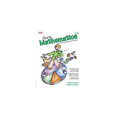 Kagan Publishing Engaging Mathematics: Numbers & Operations and Algebra Math Workbook, Grade 2 - Grade 4 [eBook]