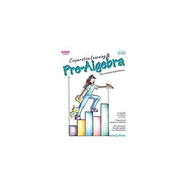 Kagan Publishing Cooperative Learning & Pre-Algebra Math Workbook, Grade 6 - Grade 10 [eBook]