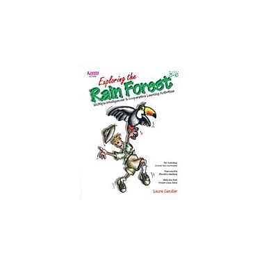 Kagan Publishing Exploring the Rain Forest Problem Solving Workbook, Grade 3 - Grade 6 [eBook]