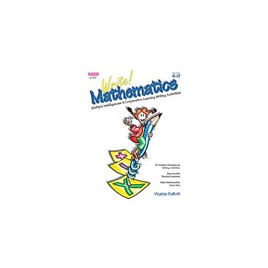 Kagan Publishing Write! Mathematics: Mi & Cooperative Learning Activities Math Workbook, Grade 4 - Grade 9 [eBook]