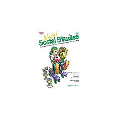 Kagan Publishing Write! Social Studies: Mi & Cooperative Learning Activities Social Studies Workbook, Grade 4 - Grade 9 [eBook]