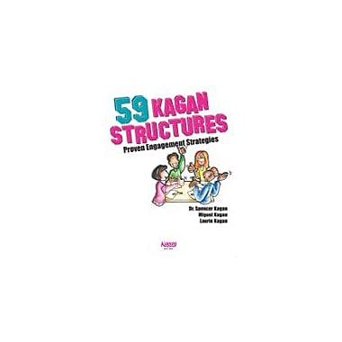Kagan Publishing 59 Kagan Structures, Proven Engagement Structures Problem Solving Workbook, Kindergarten - Grade 12 [eBook]