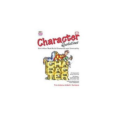 Kagan Publishing Character Quotations Problem Solving Workbook, Grade 3 - Grade 8 [eBook]