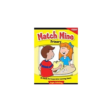 Kagan Publishing Match Mine: Primary History Workbook, Kindergarten - Grade 3 [eBook]
