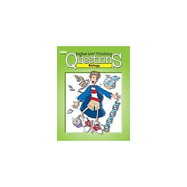 Kagan Publishing Biology Higher Level Thinking Questions Science Workbook, Grade 7 - Grade 12 [eBook]