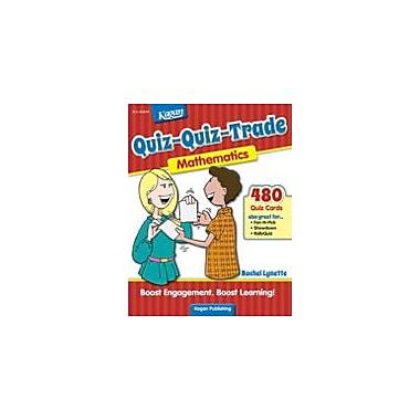 Kagan Publishing Quiz-Quiz-Trade: Mathematics Problem Solving Workbook, Grade 3 - Grade 6 [eBook]