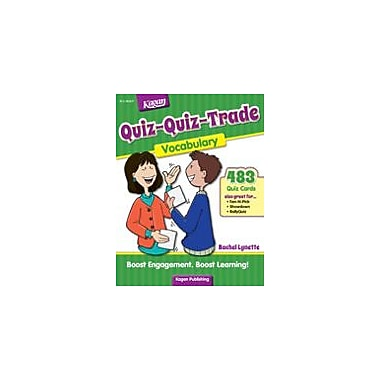 Kagan Publishing Quiz-Quiz-Trade: Vocabulary Problem Solving Workbook, Grade 2 - Grade 6 [eBook]