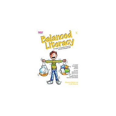 Kagan Publishing Balanced Literacy Language Arts Workbook, Kindergarten [eBook]