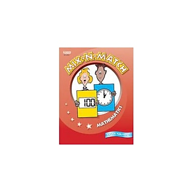 Kagan Publishing Mix-N-Match Mathematics Math Workbook, Grade 3 - Grade 6 [eBook]