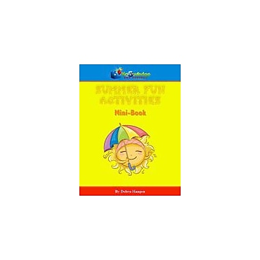 Knowledge Box Central Summer Fun Activities Mini-Book Social Studies Workbook, Preschool - Grade 5 [eBook]