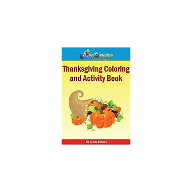 Knowledge Box Central Thanksgiving Coloring and Activity Book Social Studies Workbook, Preschool - Grade 5 [eBook]