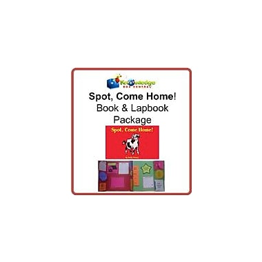 Knowledge Box Central Spot, Come Home! Book & Lapbook Package Reading & Writing Workbook, Kindergarten - Grade 2 [eBook]