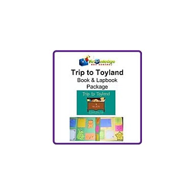 Knowledge Box Central Trip to Toyland! Book & Lapbook Package Reading & Writing Workbook, Kindergarten - Grade 2 [eBook]
