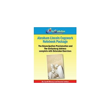 Knowledge Box Central Abraham Lincoln Copywork Notebook Package History Workbook, Grade 5 - Grade 12 [eBook]