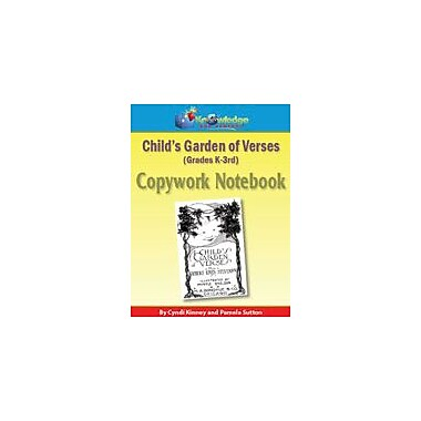 Knowledge Box Central Child's Garden of Verses Copywork Notebook History Workbook, Grade 3 - Grade 5 [eBook]