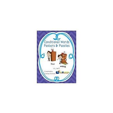 Knowledge Box Central Conditional Words Posters & Puzzles Language Arts Workbook, Grade 1 - Grade 4 [eBook]
