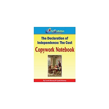 Knowledge Box Central Declaration of Independence Copywork Notebook History Workbook, Grade 5 - Grade 12 [eBook]