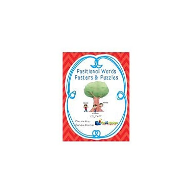 Knowledge Box Central Positional Words Posters & Puzzles Language Arts Workbook, Grade 1 - Grade 4 [eBook]