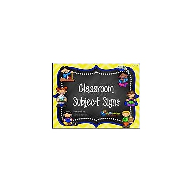 Knowledge Box Central Classroom Subject Signs Set 2 Cross-Curricular Workbook, Kindergarten - Grade 6 [eBook]