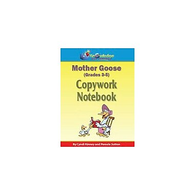 Knowledge Box Central Mother Goose Copywork Notebook Reading & Writing Workbook, Grade 3 - Grade 5 [eBook]