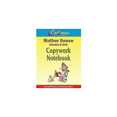 Knowledge Box Central Mother Goose Copywork Notebook Reading & Writing Workbook, Preschool - Grade 3 [eBook]
