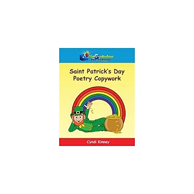 Knowledge Box Central Saint Patrick's Day Poetry Copywork Reading & Writing Workbook, Grade 1 - Grade 5 [eBook]