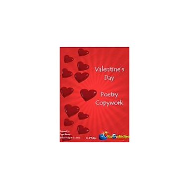 Knowledge Box Central Valentine's Day Poetry Copywork Reading & Writing Workbook, Grade 1 - Grade 5 [eBook]
