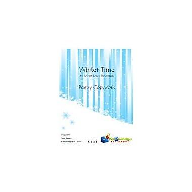 Knowledge Box Central Winter Time, Poetry Copywork Reading & Writing Workbook, Grade 1 - Grade 5 [eBook]