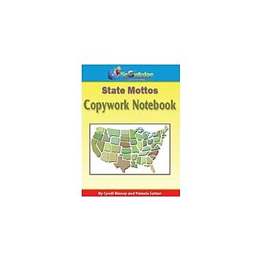 Knowledge Box Central State Mottos Copywork Notebook History Workbook, Grade 1 - Grade 12 [eBook]