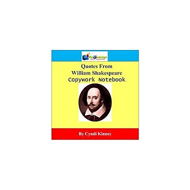 Knowledge Box Central Shakespeare Quotes Copywork Notebook Reading & Writing Workbook, Grade 1 - Grade 12 [eBook]