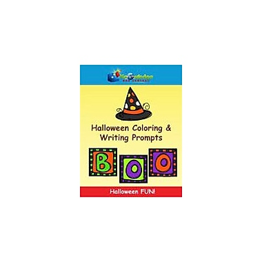 Knowledge Box Central Halloween Coloring & Writing Prompts Reading & Writing Workbook, Grade 1 - Grade 4 [eBook]