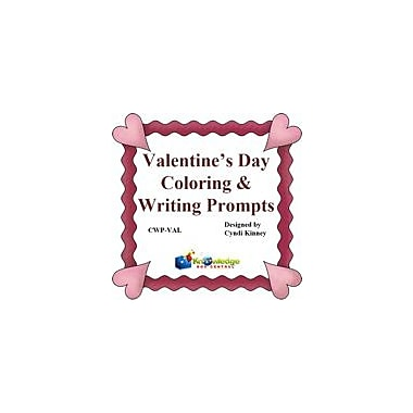 Knowledge Box Central Valentine's Day Coloring & Writing Prompts Reading & Writing Workbook, Grade 1 - Grade 4 [eBook]