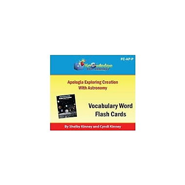 Knowledge Box Central Apologia Exploring Creation With Astronomy Vocabulary Flash Cards Workbook, Grade 5 - Grade 8 [eBook]