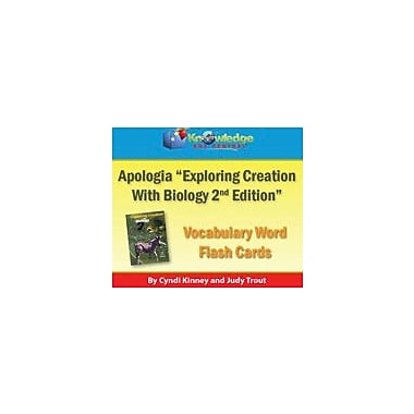 Knowledge Box Central Apologia Exploring Creation With Biology Vocabulary Word Flash Cards (2nd Edition) Workbook [eBook]