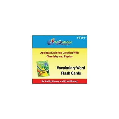 Knowledge Box Central Apologia Exploring Creation With Chemistry & Physics Vocabulary Flash Cards Workbook [eBook]