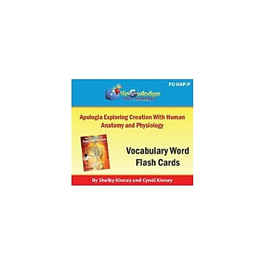 Knowledge Box Central Apologia Exploring Creation With Human Anatomy & Physiology Vocabulary Flash Cards Workbook [eBook]